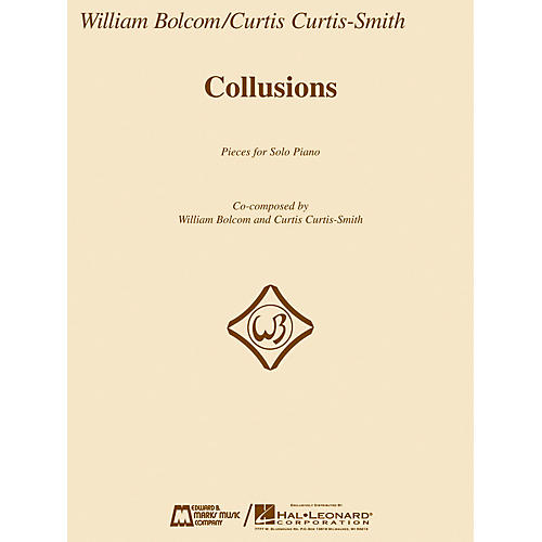 Edward B. Marks Music Company Collusions (Pieces for Solo Piano) E.B. Marks Series Softcover