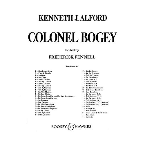 Boosey and Hawkes Colonel Bogey (Score and Parts) Concert Band Composed by Kenneth J. Alford Arranged by Frederick Fennell