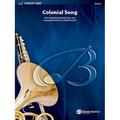 Alfred Colonial Song Concert Band Grade 3 Set