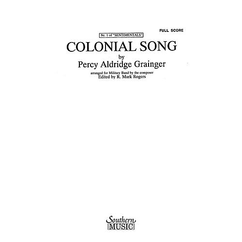 Southern Colonial Song (Oversized Score) Concert Band Level 4 Arranged by R. Mark Rogers