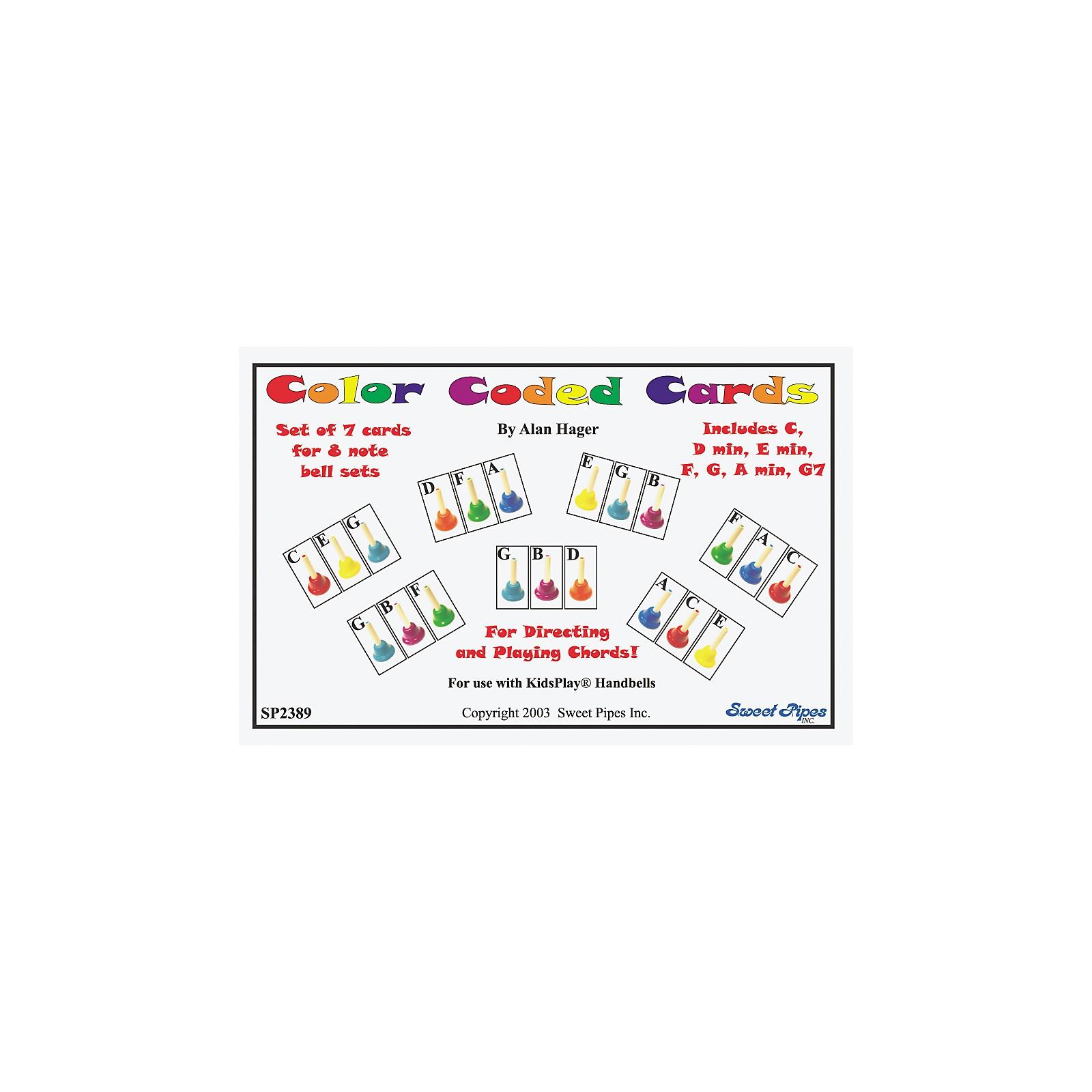 Rhythm Band Color-Coded Handbell Cards/7 Chords