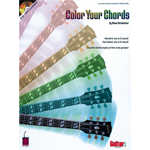 Cherry Lane Color Your Chords Guitar Book/CD