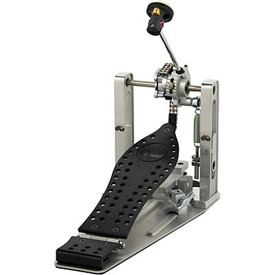 DW Colorboard Machined Chain Drive Single Bass Drum Pedal with Black Footboard