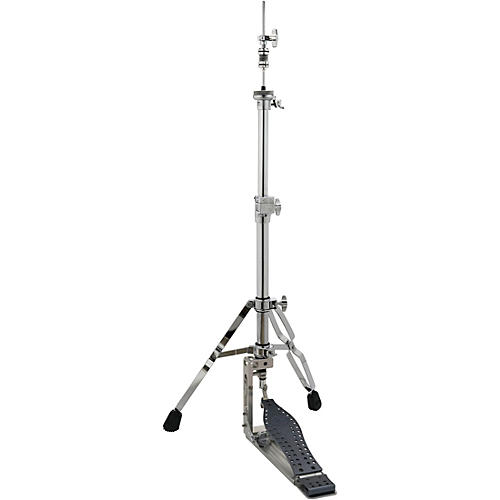 DW Colorboard Machined Direct Drive 2-Legged Hi-Hat Stand with Gray Footboard