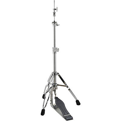 DW Colorboard Machined Direct Drive 3-Legged Hi-Hat Stand with Gray Footboard