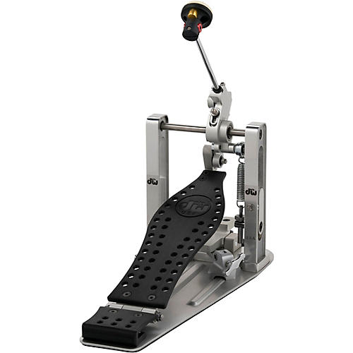 DW Colorboard Machined Direct Drive Single Bass Drum Pedal with Black Footboard