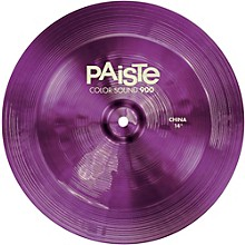 Colorsound 900 China Cymbal Purple 14 in.