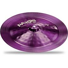 Open BoxPaiste Colorsound 900 China Cymbal Purple