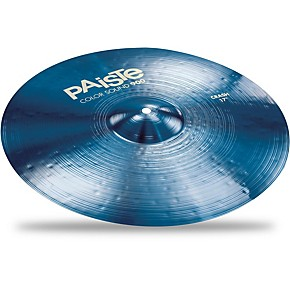 paiste colorsound 900 crash cymbal blue musician 39 s friend. Black Bedroom Furniture Sets. Home Design Ideas
