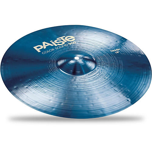 Paiste Colorsound 900 Crash Cymbal Blue