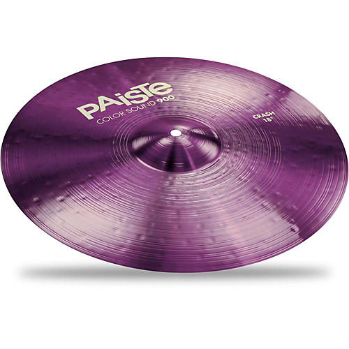 paiste colorsound 900 crash cymbal purple 18 in musician 39 s friend. Black Bedroom Furniture Sets. Home Design Ideas