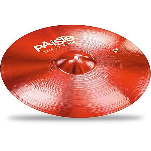 Paiste Colorsound 900 Crash Cymbal Red