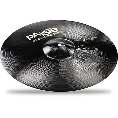 Paiste Colorsound 900 Heavy Crash Cymbal Black