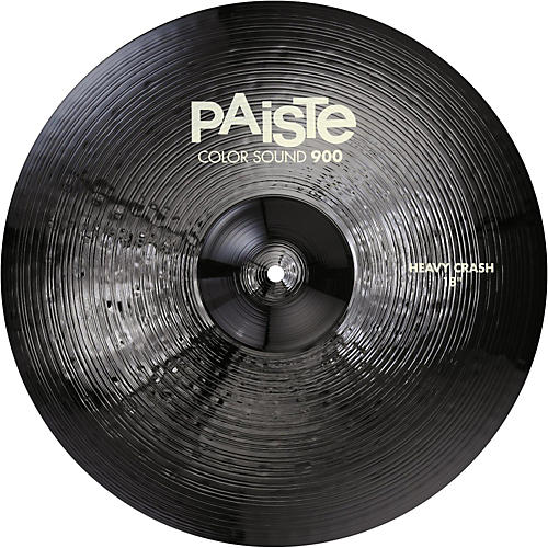 Paiste Colorsound 900 Heavy Crash Cymbal Black