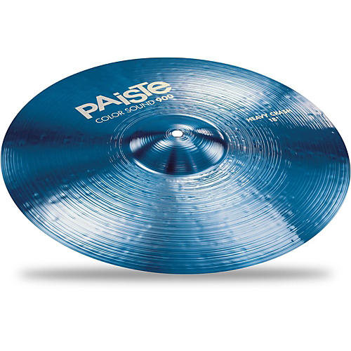 Paiste Colorsound 900 Heavy Crash Cymbal Blue