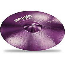 Colorsound 900 Heavy Crash Cymbal Purple 19 in.