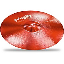 Colorsound 900 Heavy Crash Cymbal Red 18 in.