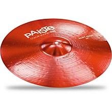 Colorsound 900 Heavy Crash Cymbal Red 19 in.