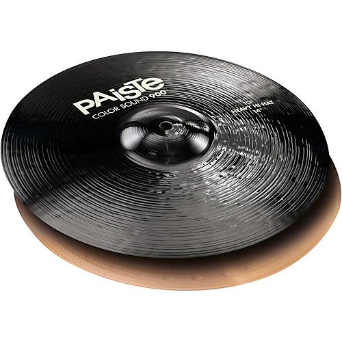 Paiste Colorsound 900 Heavy Hi Hat Cymbal Black 14 in. Pair