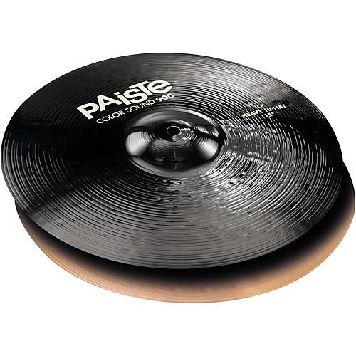 Paiste Colorsound 900 Heavy Hi Hat Cymbal Black