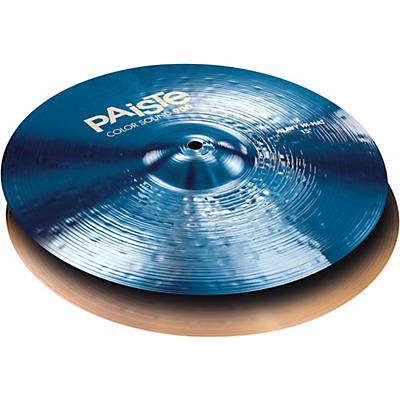 Paiste Colorsound 900 Heavy Hi Hat Cymbal Blue