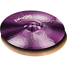Colorsound 900 Heavy Hi Hat Cymbal Purple 14 in. Pair