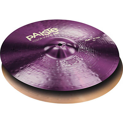 Paiste Colorsound 900 Heavy Hi Hat Cymbal Purple