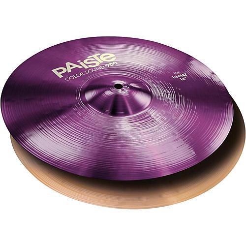 Paiste Colorsound 900 Hi Hat Cymbal Purple 14 in. Pair