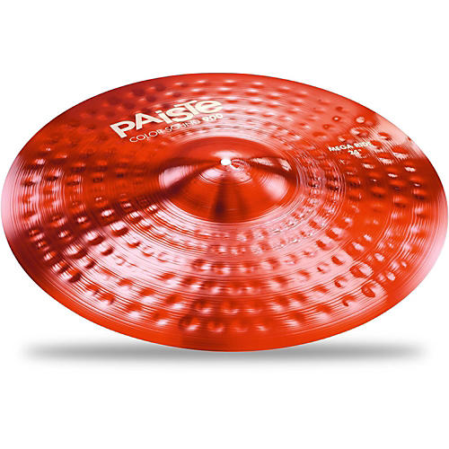 Paiste Colorsound 900 Mega Ride Cymbal Red