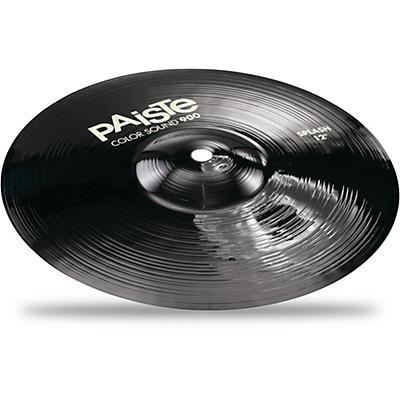 Paiste Colorsound 900 Splash Cymbal Black