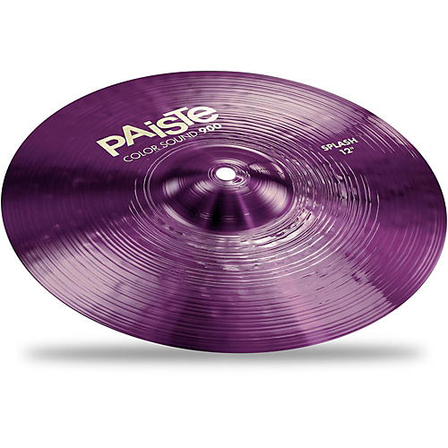Paiste Colorsound 900 Splash Cymbal Purple 12 in.