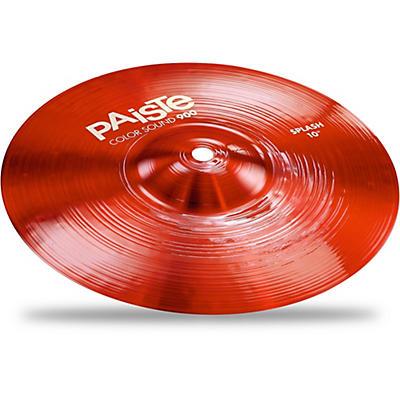 Paiste Colorsound 900 Splash Cymbal Red