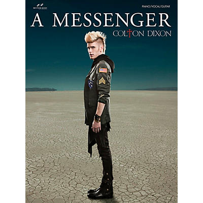 Brentwood-Benson Colton Dixon - A Messenger for Piano/Vocal/Guitar (P/V/G)
