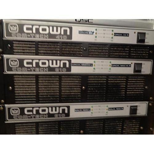 Com-tech 810 Power Amp