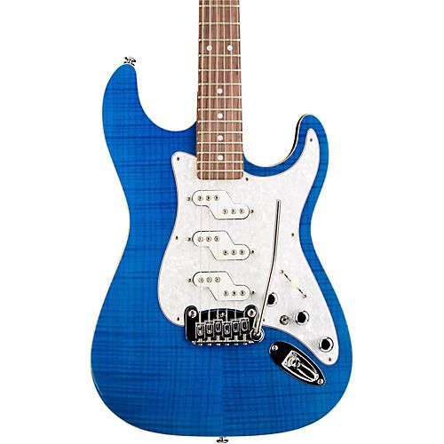 G&L Comanche Electric Guitar Clear Blue