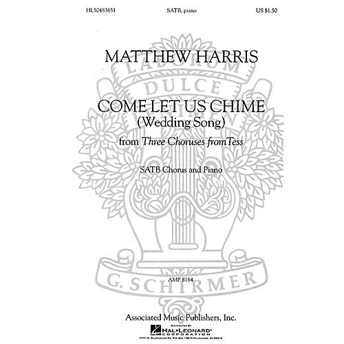 Associated Come Let Us Chime (Wedding Song) (SATB and Piano) SATB composed by Matthew Harris