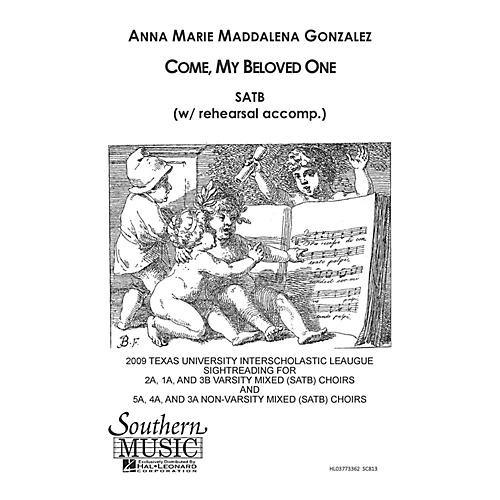 Southern Come My Beloved SATB Composed by Anna Marie Gonzalez