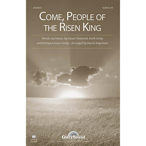 Shawnee Press Come, People of the Risen King SATB arranged by David Angerman