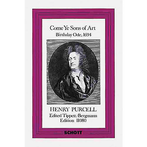 Schott Come Ye Sons of Art (Study Score) Schott Series Composed by Henry Purcell