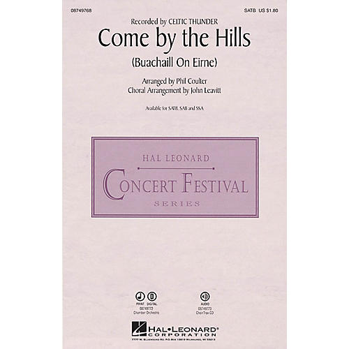 Hal Leonard Come by the Hills Digital Instrumental Pak Chamb by Celtic Thunder Arranged by John Leavitt