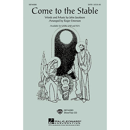 Hal Leonard Come to the Stable SSA Arranged by Roger Emerson