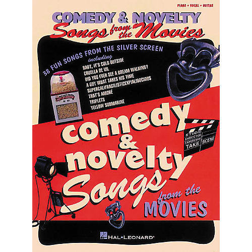 Hal Leonard Comedy & Novelty Songs from the Movies Piano, Vocal, Guitar Songbook