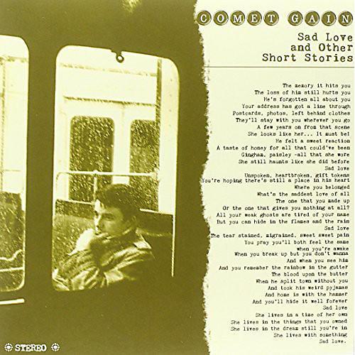 Alliance Comet Gain - Sad Love & Other Short Stories