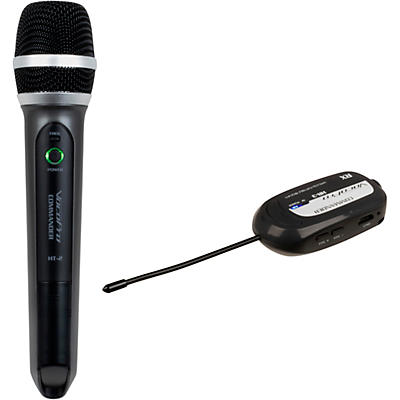 VocoPro Commander-Film-HandHeld Wireless UHF Microphone System
