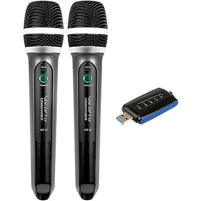 Vocopro Commander-USB-Handheld UHF Wireless Microphone System