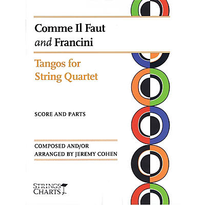 String Letter Publishing Comme Il Faut and Francini String Letter Publishing Series Softcover Arranged by Jeremy Cohen