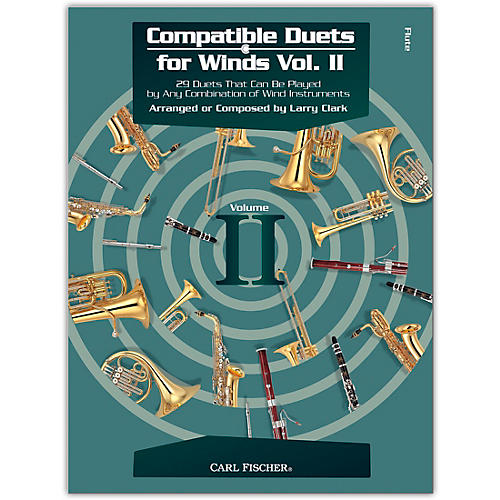 Carl Fischer Comp Duets Winds Vol 2 - Flute