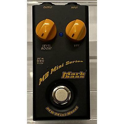 Markbass Compact Bass Boost Bass Effect Pedal