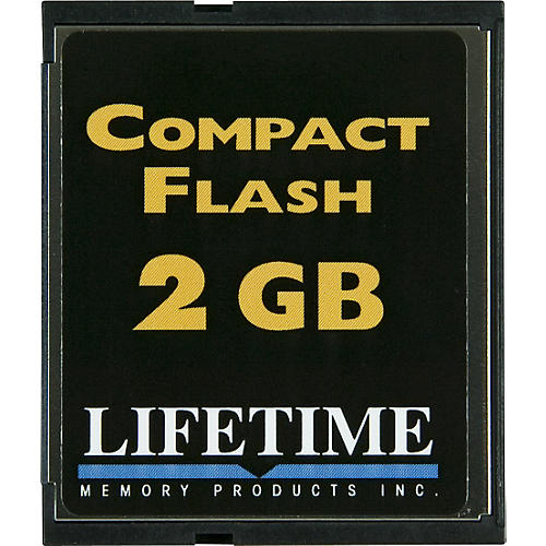 Lifetime Memory Products Compact Flash Card