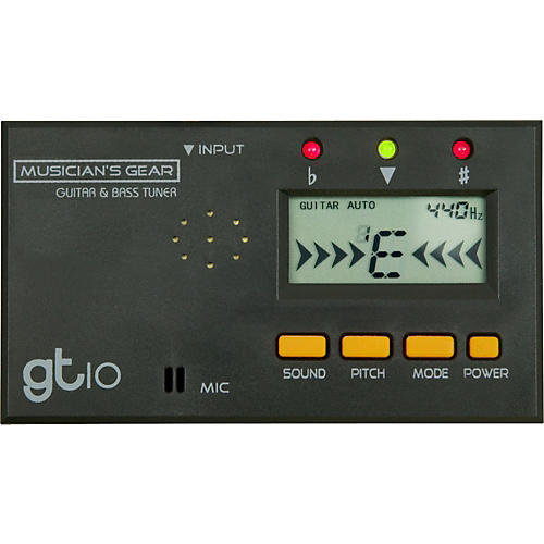 Musician's Gear Compact Guitar and Bass Tuner